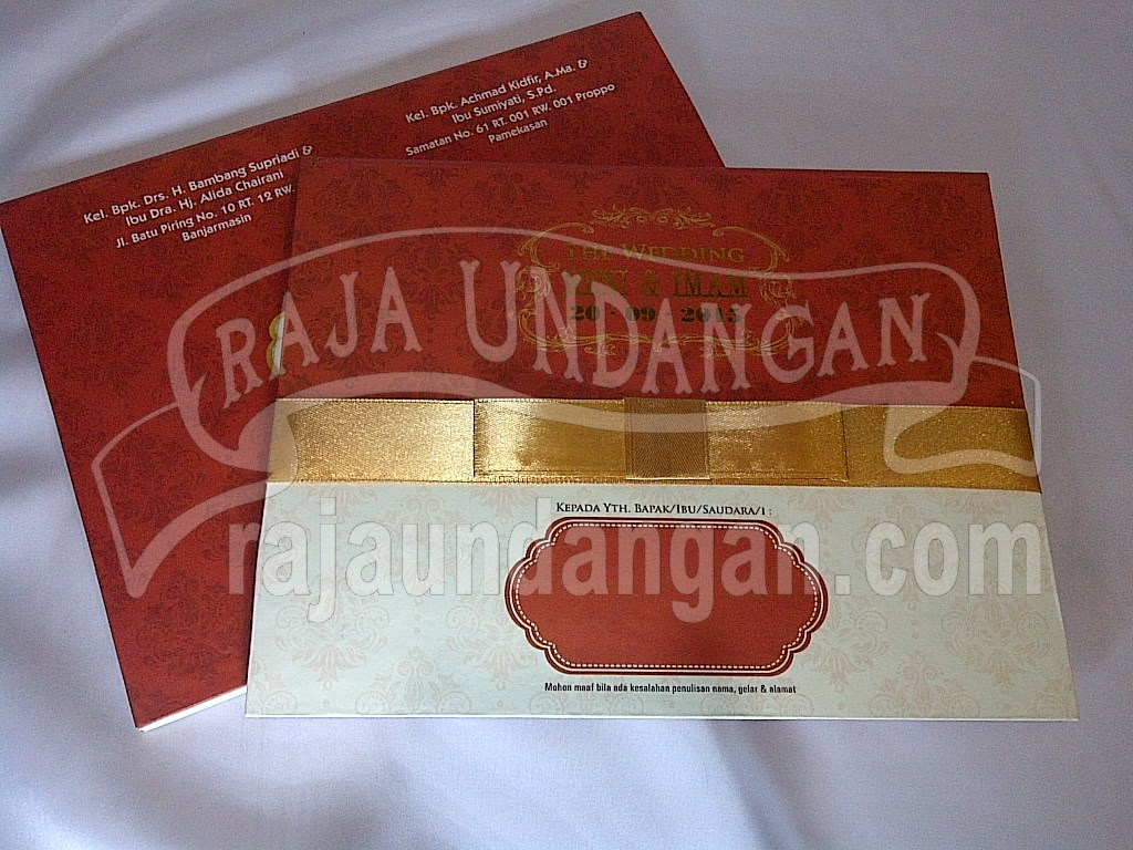 IMG 20150808 00898 - Percetakan Wedding Invitations Simple dan Elegan di Putat Jaya