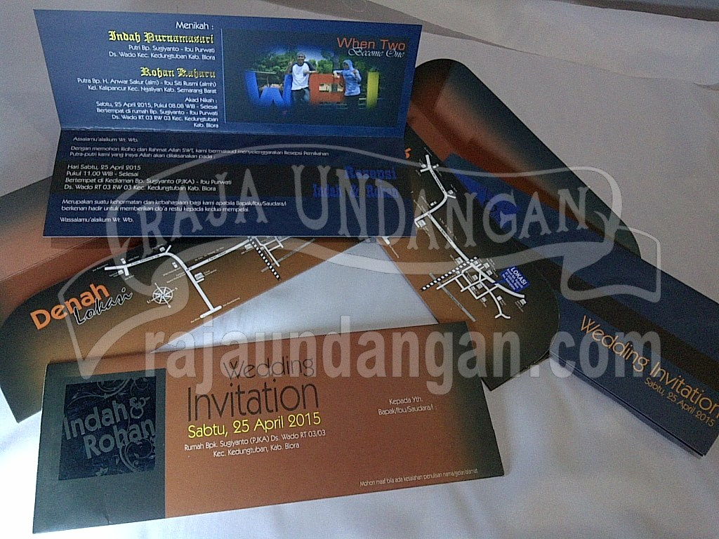 Percetakan Wedding Invitations Elegan di Rungkut Menanggal