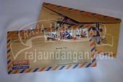 Undangan Softcover Model Amplop Pos Wahyu dan Fauzi (EDC 103)