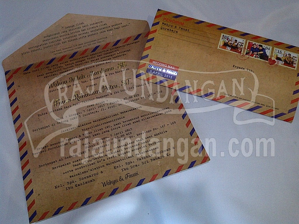 IMG 20150808 00923 - Membuat Wedding Invitations Simple di Dr. Sutomo