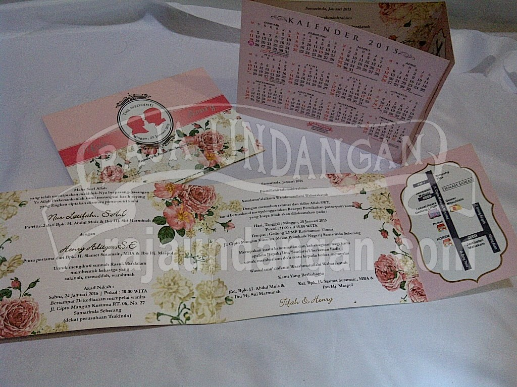 IMG 20150808 00924 - Pesan Wedding Invitations Eksklusif di Karang Poh