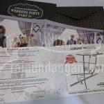 Undangan Pernikahan Softcover Simple Pakai Amplop Nanda dan Khaffidz (EDC 105) Tampak Keselurahan