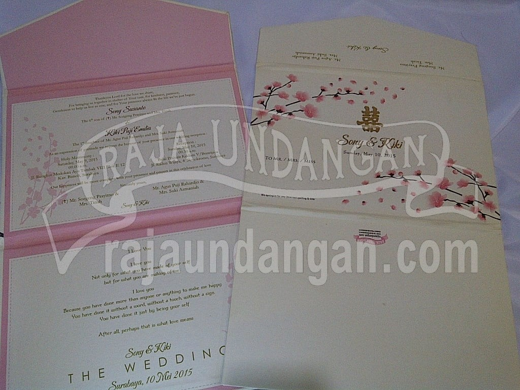 IMG 20150808 00945 - Percetakan Wedding Invitations Simple dan Elegan di Putat Jaya