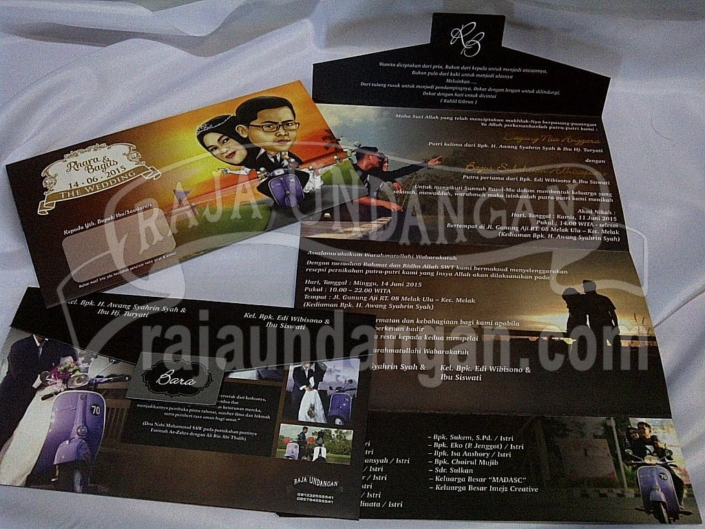 IMG 20150808 00946 - Percetakan Wedding Invitations Simple dan Elegan di Sawunggaling