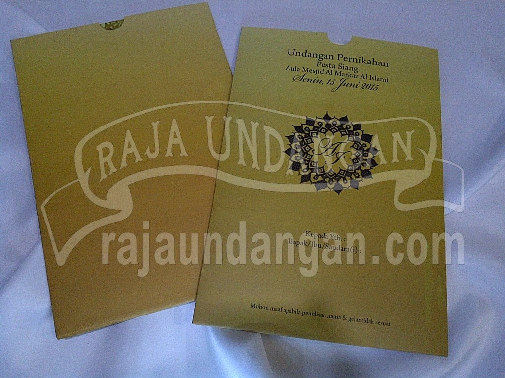 Percetakan Wedding Invitations Elegan di Kejawan Putih Tambak