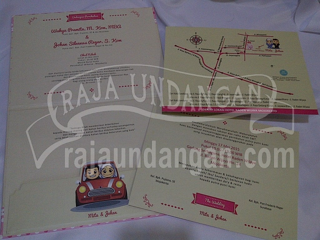 IMG 20150808 00965 - Membuat Wedding Invitations Unik dan Murah di Kedungdoro