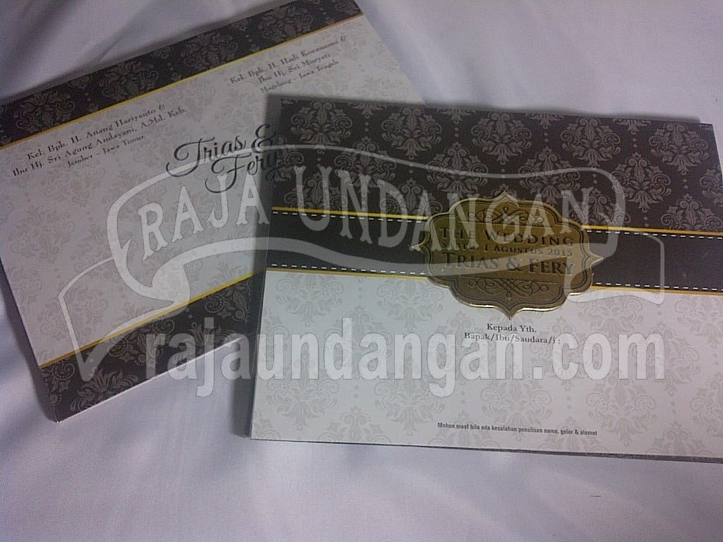 IMG 20150808 00978 - Percetakan Wedding Invitations Simple dan Elegan di Sawunggaling