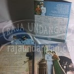Undangan Pernikahan Hardcover Semi Pop Up Dody dan Nifa (EDC 108)
