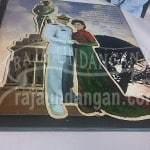 Undangan Pernikahan Hardcover Semi Pop Up Dody dan Nifa (EDC 108) Tampak Isi