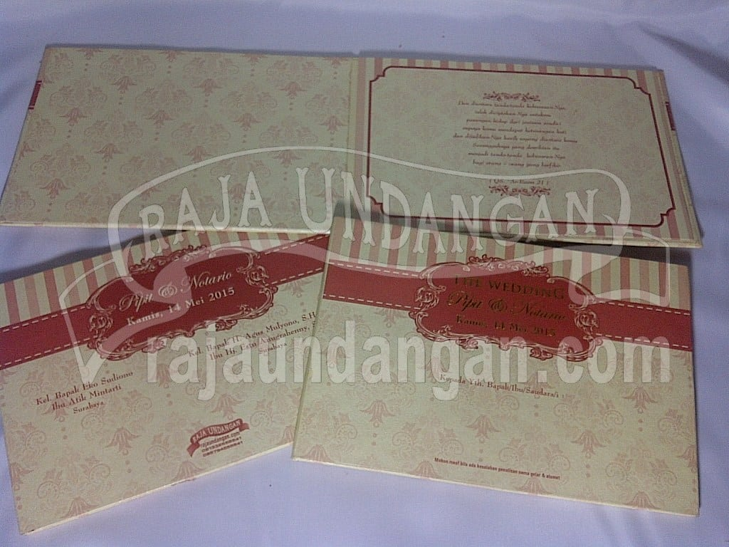 Cetak Wedding Invitations Online di Nyamplungan