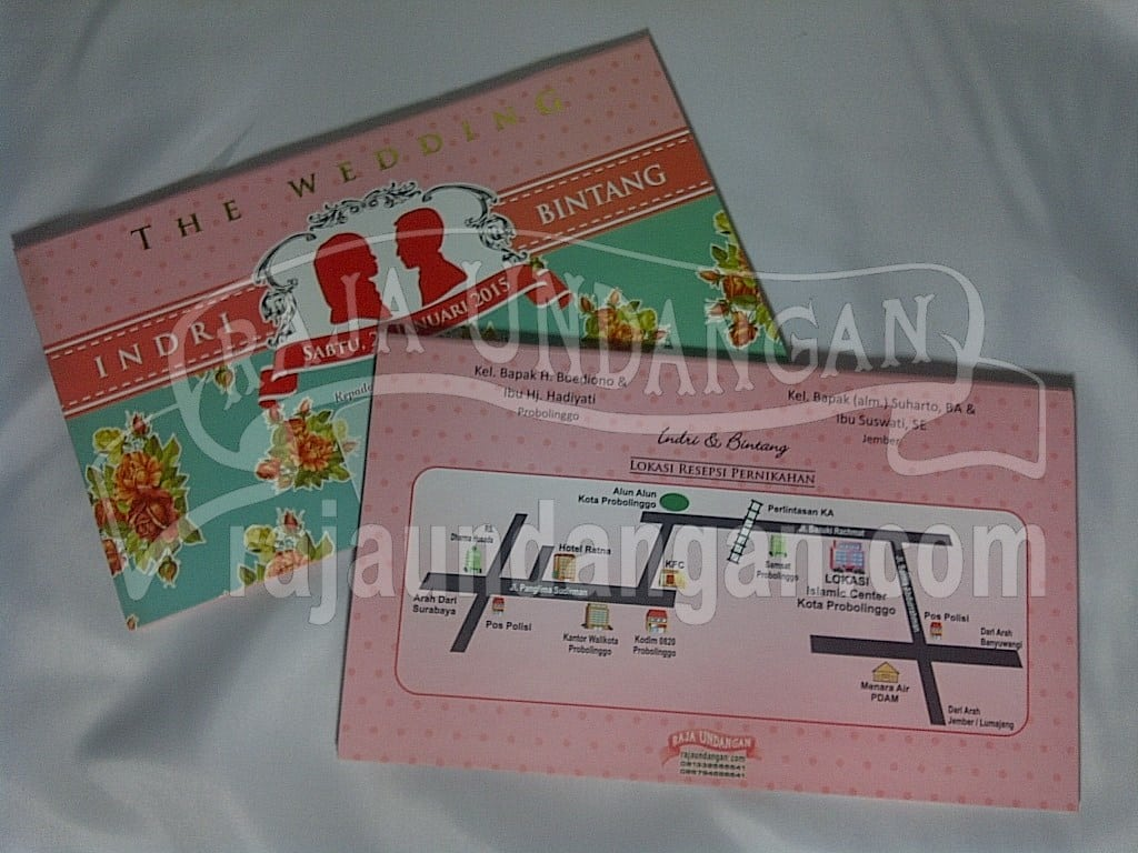 IMG 20150808 01005 - Percetakan Wedding Invitations Simple dan Elegan di Sawunggaling