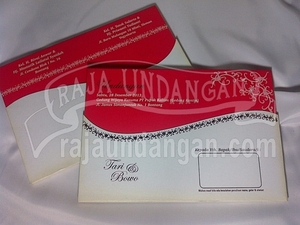 Cetak Wedding Invitations Unik dan Eksklusif di Pucangsewu