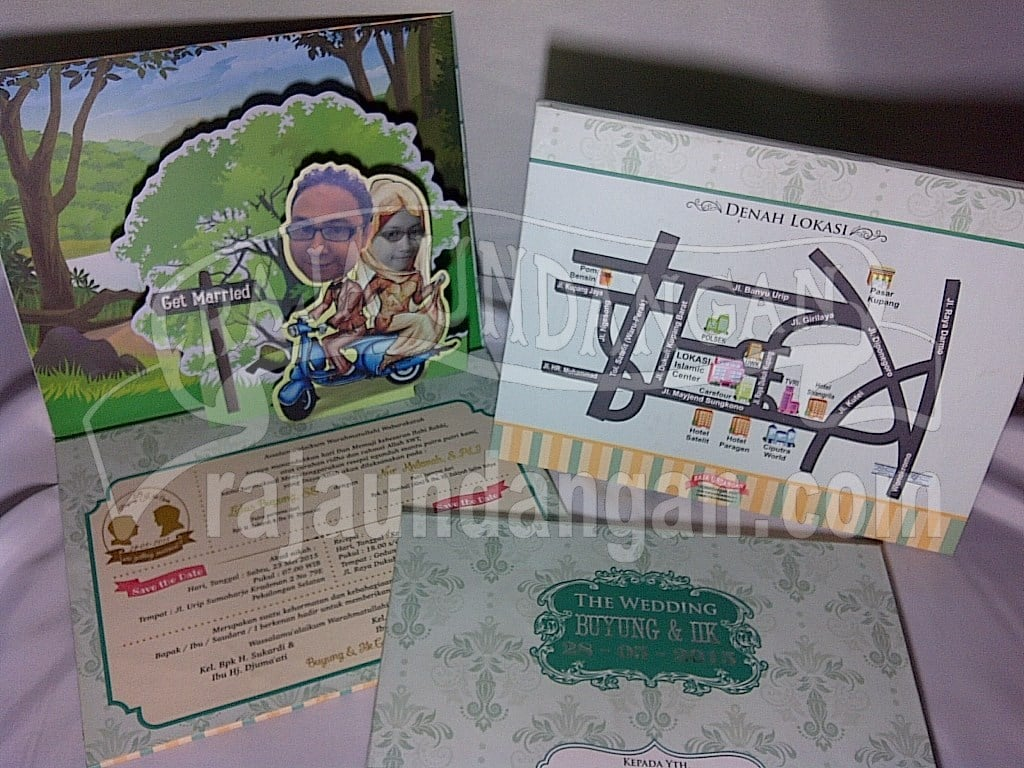 Membuat Wedding Invitations Online di Simomulyo