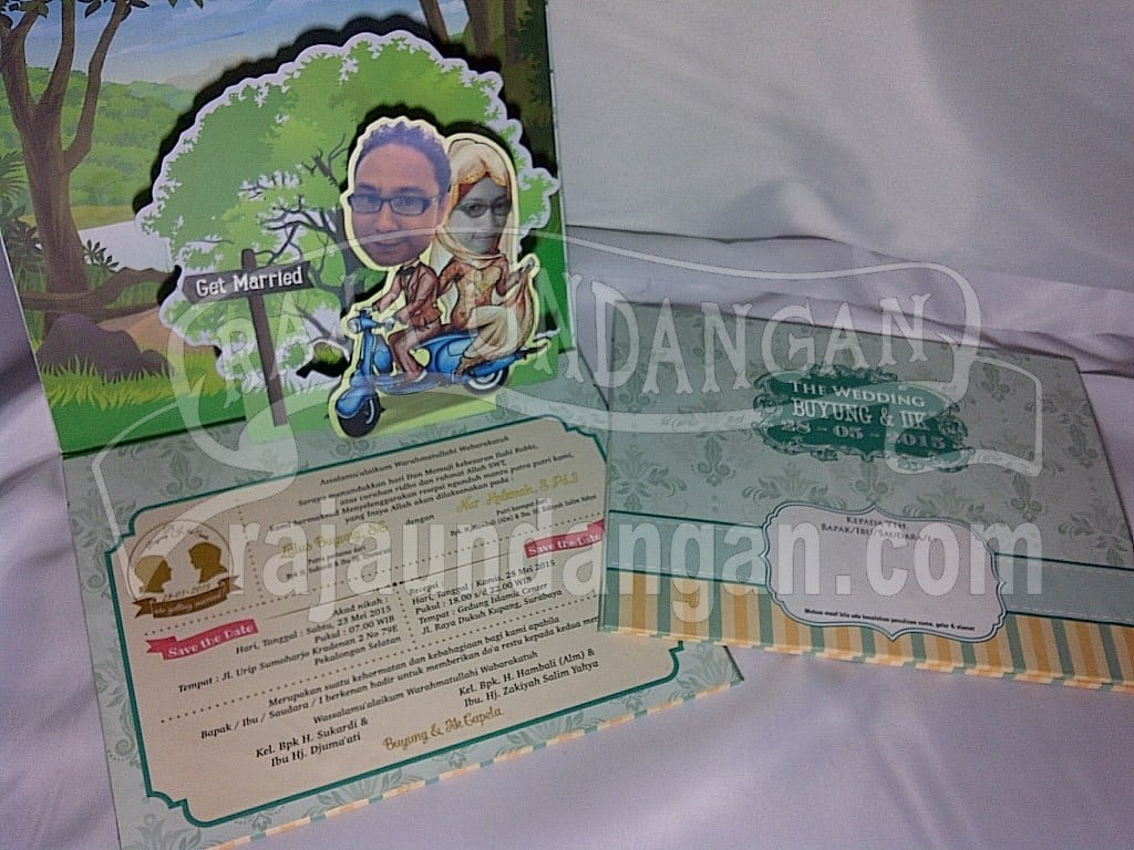 IMG 20150808 01045 - Percetakan Wedding Invitations Unik dan Eksklusif di Tandes