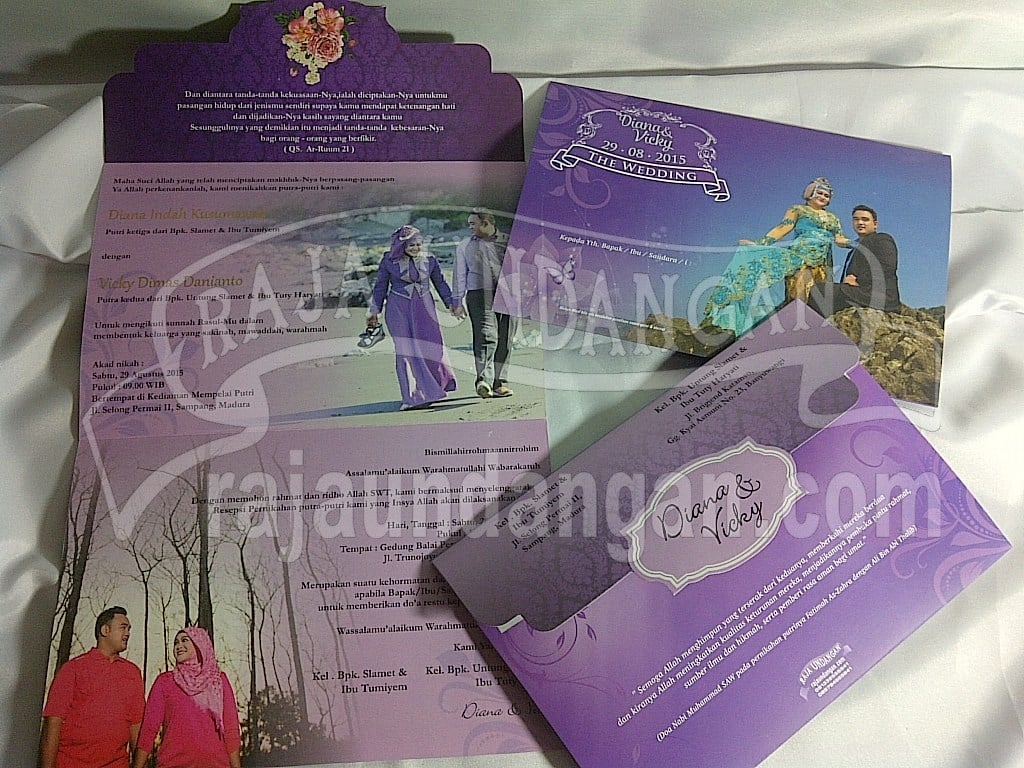 IMG 20150809 01087 - Pesan Wedding Invitations Simple di Ploso