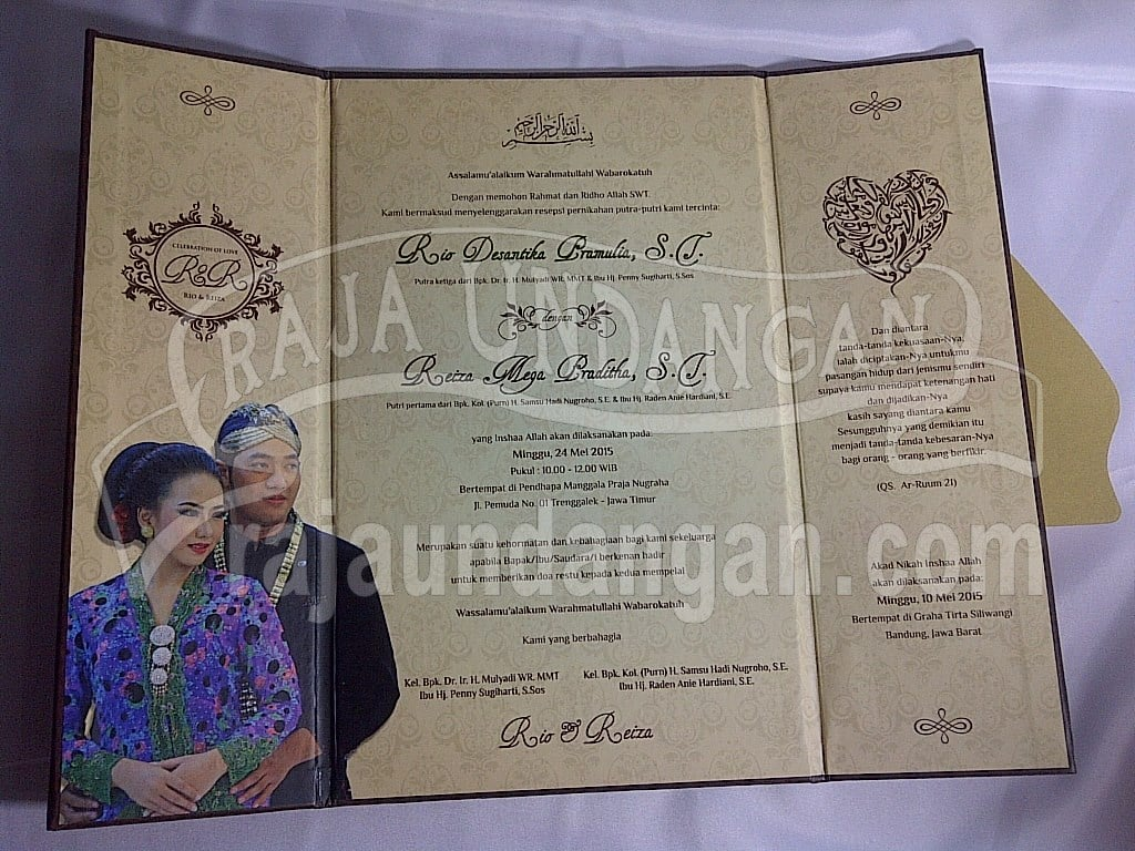 IMG 20150809 01105 - Pesan Wedding Invitations Simple di Jambangan Karah